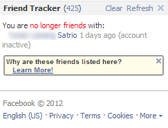 Friend Tracker