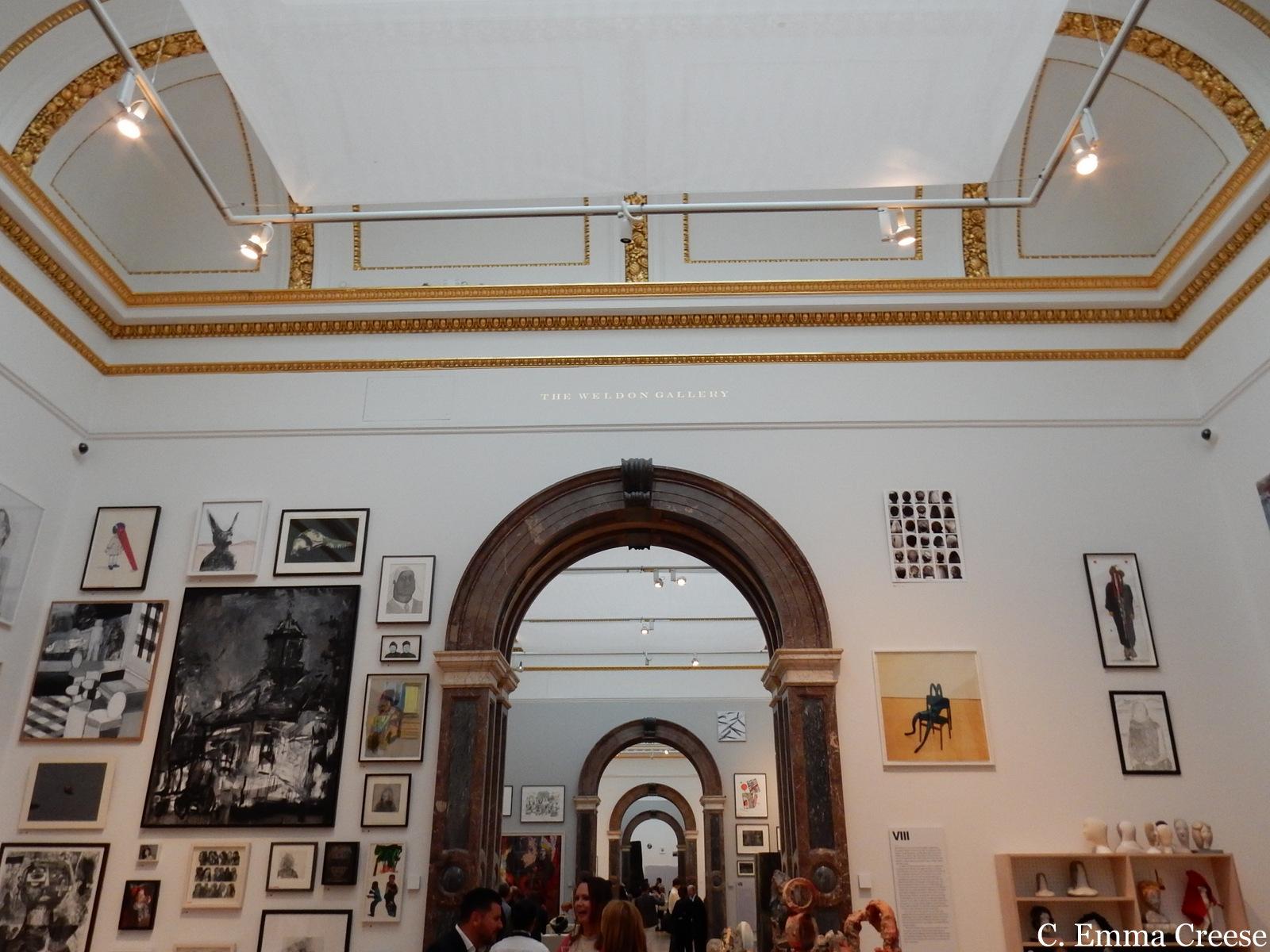 Modern art at the Royal Academy Adventures of a London Kiwi