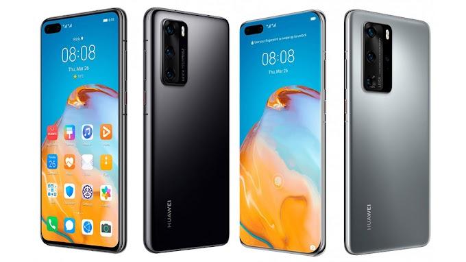 Ảnh render sắc nét của Huawei P40 Pro, phiên bản Premium Edition sẽ có đến 2 camera tele