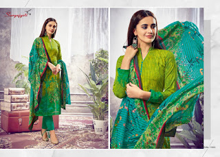 Suryajyoti Nargis Vol 11 Cotton Dress Material Collection