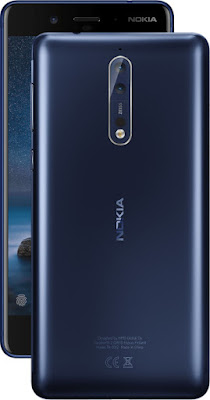 Nokia 8 Tempered Blue