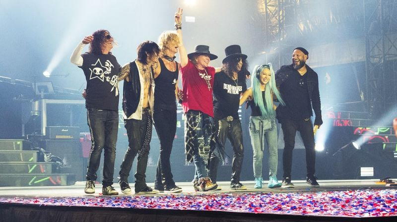 Guns N Roses Announces New Tour Nataliezworld