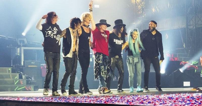 Guns n roses announces new tour nataliezworld - Guns n roses madison square garden 2017 ...