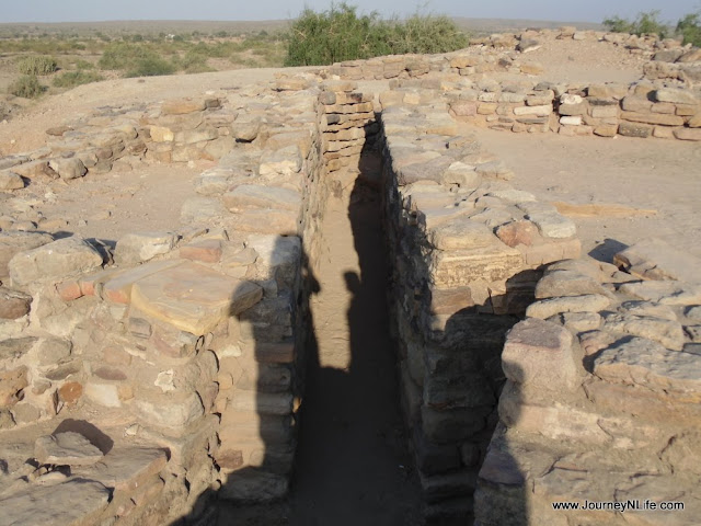 The Harappan Site at Dholavira, Kutch, Gujarat
