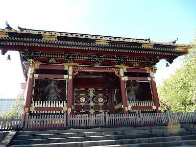 旧有章院霊廟二天門