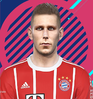 PES 2018 Faces Niklas Süle by Mario Milan and Kelvinchan327
