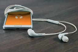 Iphone Headphones and speaker