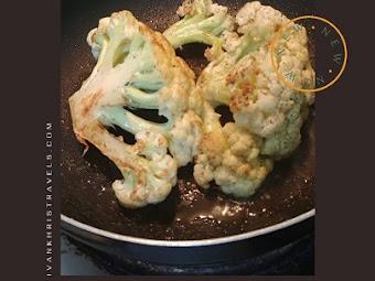 How to make cauliflower chops