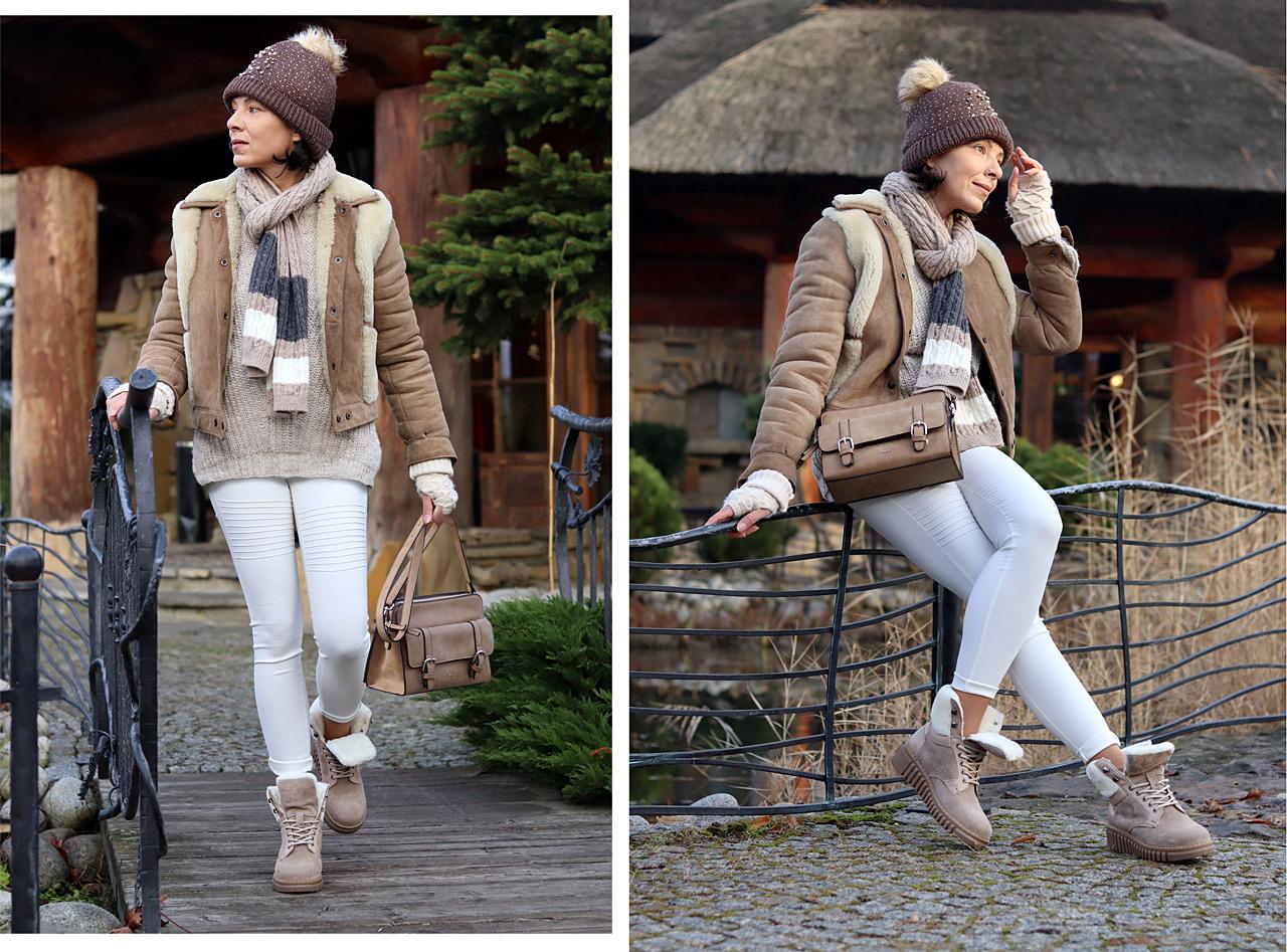Zimowy Kozuszek Minimalissmo Blog Modowy