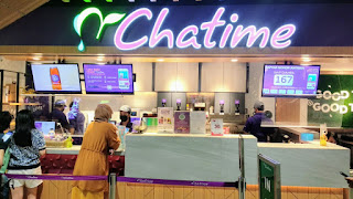 Gerai Chatime di Queen City Mall Semarang