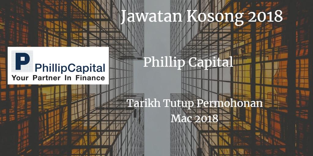 Jawatan Kosong Phillip Capital Mac 2018