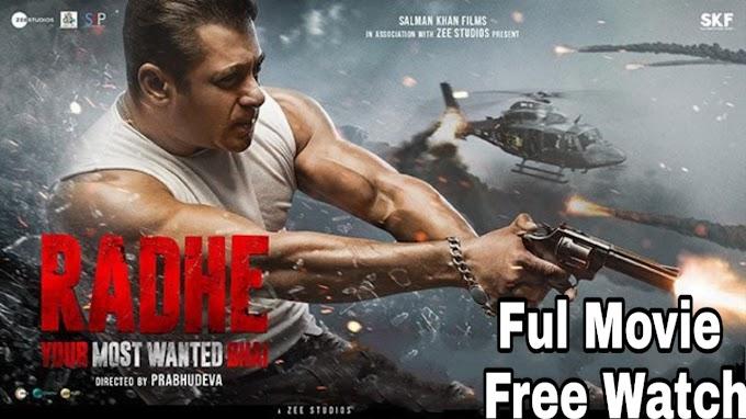 Radhe (2021) -  Full Bollywood Movie