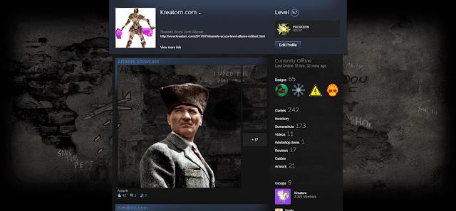Steam profil duzenleme