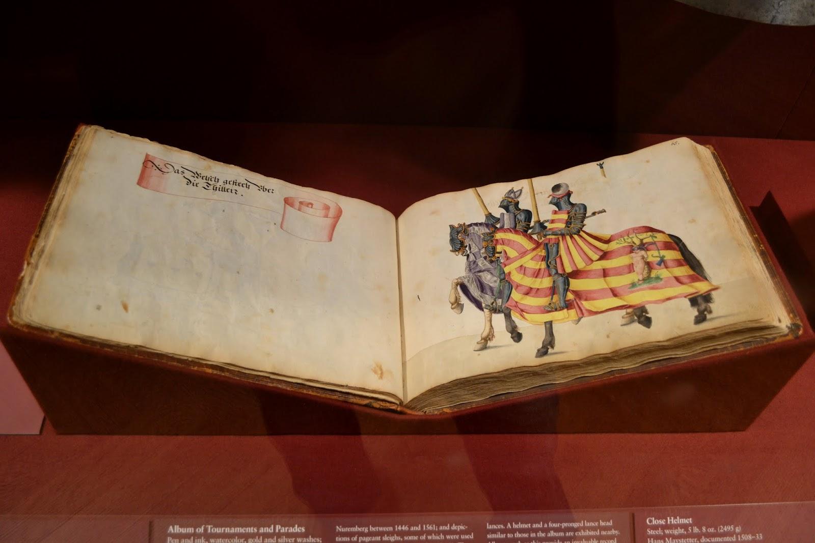 Книга рыцарских турниров. Метрополитен-музей. Нью-Йорк, Нью-Йорк (The Metropolitan Museum of Art, NYC)