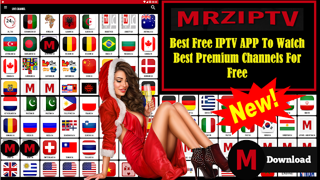 MRZIPTV BEST FREE IPTV & WATCH BEST PREMIUM CHANNELS