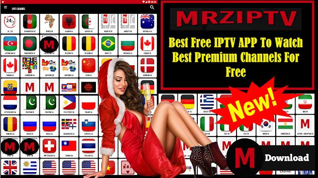 MRZIPTV BEST FREE IPTV & WATCH BEST PREMIUM CHANNELS