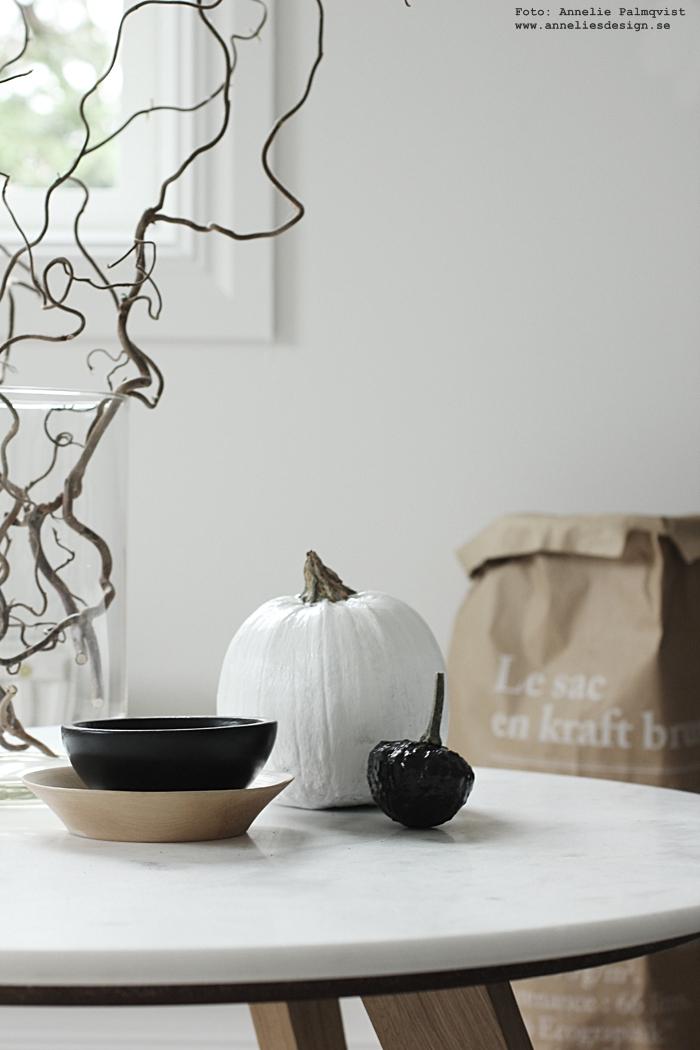 halloween, diy, pumpa, pumpor, svartvit, svart och vitt, le sac en papier, papperspåse, papperspåsar, inredning, annelies design, webbutik, webshop, nätbutik, nätbutiker, nettbutikk, dekoration, dekorationer, gör det själv, svartvita