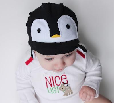 Baby Penguin Hat Tutorial