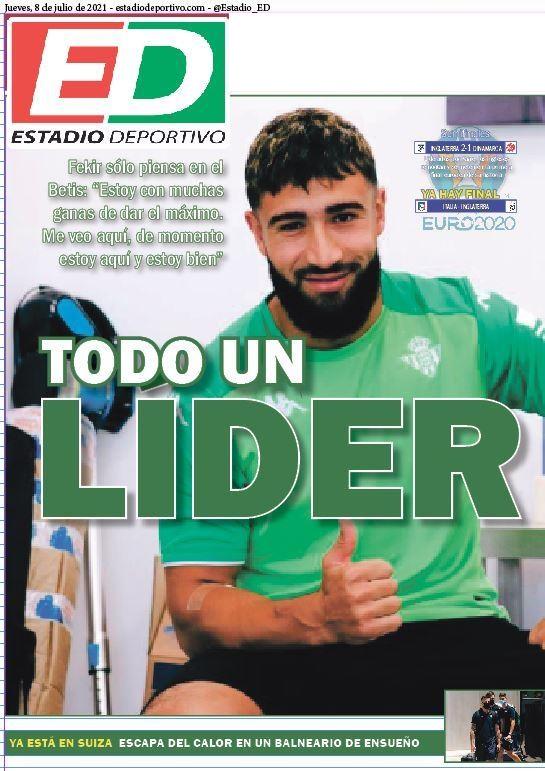 """Betis, Estadio Deportivo: """"Todo un líder"""""""