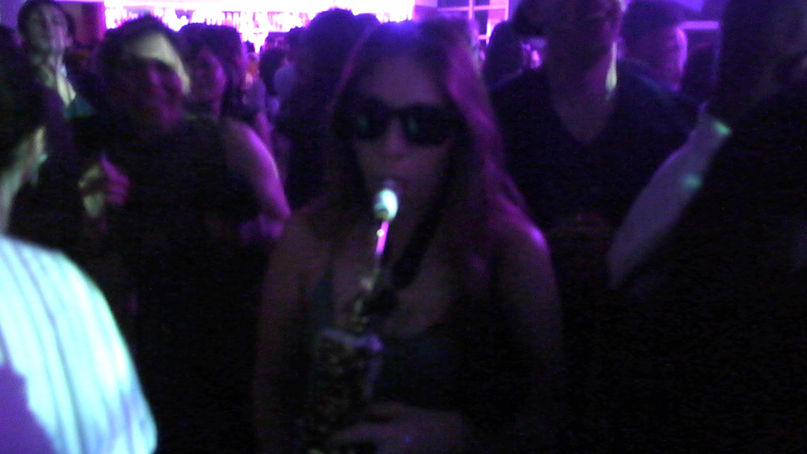 Roof Gardens Club Saxophone