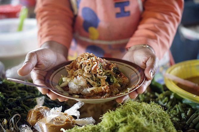 Pecel Horog-horog kuliner khas Jepara