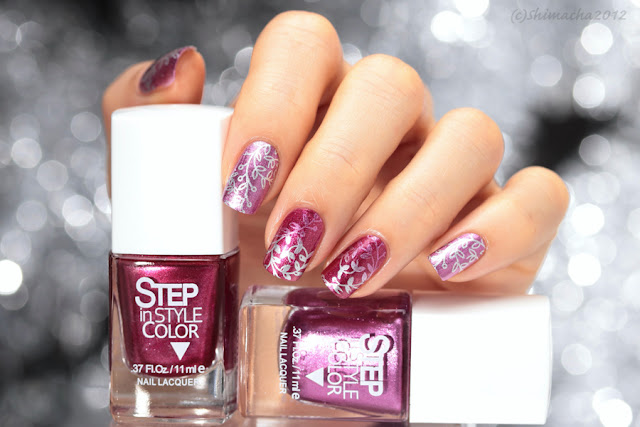 Dance Legend Step Shine Stamping Nail