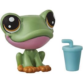 Littlest Pet Shop Keep Me Pack Tiny Pet Carrier Frog (#No#) Pet