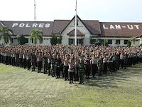 TNI-POLRI Lampung Utara Menjamin Keamanan Pelantikan Presiden dan Wakil Presiden Aman dan Kondusif