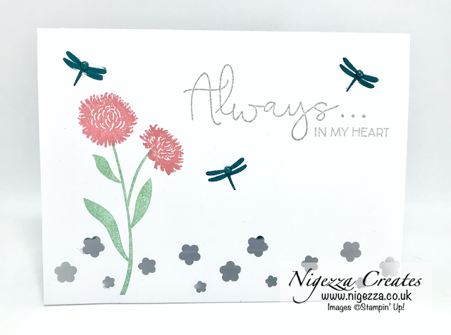 Nigezza Creates with Stampin' Up! Field Of Flowers Peek A Boo Card
