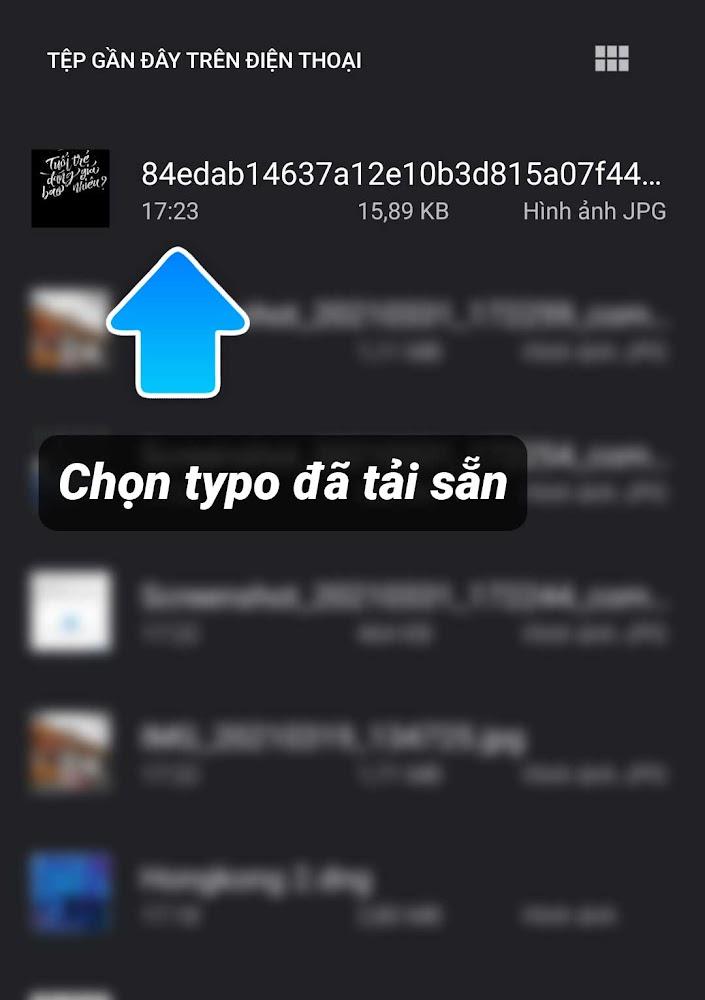 Hướng dẫn cách chèn typo chữ vào ảnh online