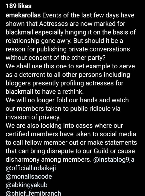 Tonto Dikeh ex-lover Prince Kpokpogri in trouble as AGN President is set to take action against him for blackmailing