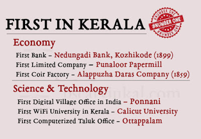 First in Kerala - PART II