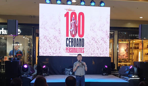 Novuhair, 100 VIP Cebuanos, Cebu, Governor Gwendolyn Garcia, influential Cebuanos, The Freeman, hair growth, hair loss, natural hair grower