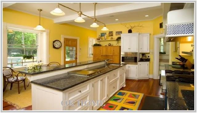 yellow kitchen decor themes