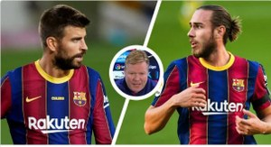 Koeman reacts to critics for starting the same starting line-up that lost 4-1 at home to PSG for the Cadiz clash