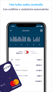 Hype: il nuovo modo di gestire il denaro vers 3.3.0