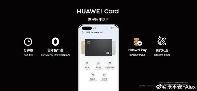 نحو منافسة آبل.. تعرف على بطاقة Huawei Card الائتمانية