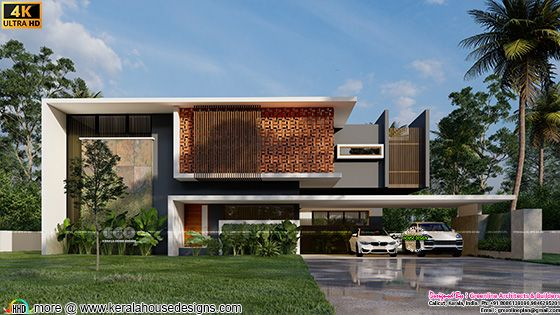 7000 sq-ft minimalist house design