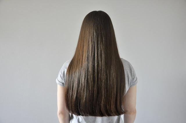 recenzja ajurwedyjskiego olejku sattva maha bhringaj root strengthening oil - efekt na włosach