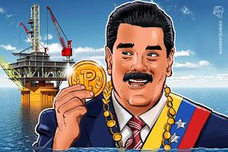 الرئيس مادورو يأمر بنك فنزويلا بقبول عملة بترو المشفرة