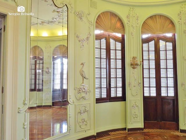 Palacete Violeta (Sala dos Pássaros - detalhes)