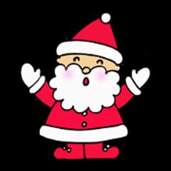 Sticker of Santa Santa Claus