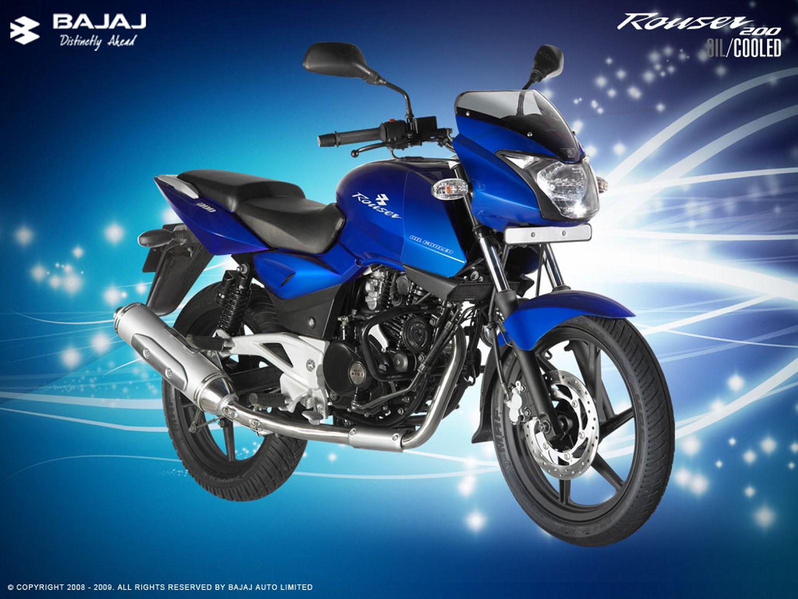 Motorcycle Pictures: Bajaj Rouser 200