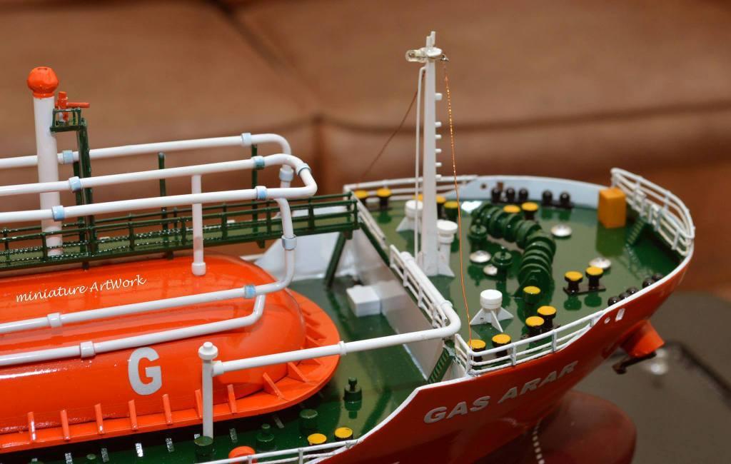 pembuat produsen miniatur kapal tanker gas arar rumpun artwork temanggung jawa tengah