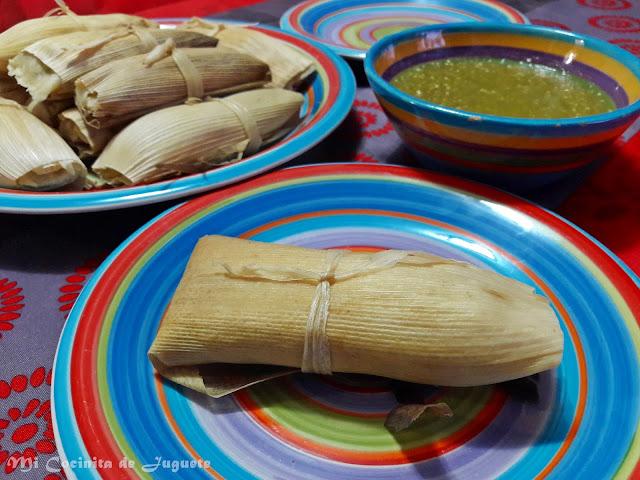 Tamales de Queso y Jalapeños
