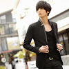 fashion cowok fashioncowok Blazer Korean Style SK33