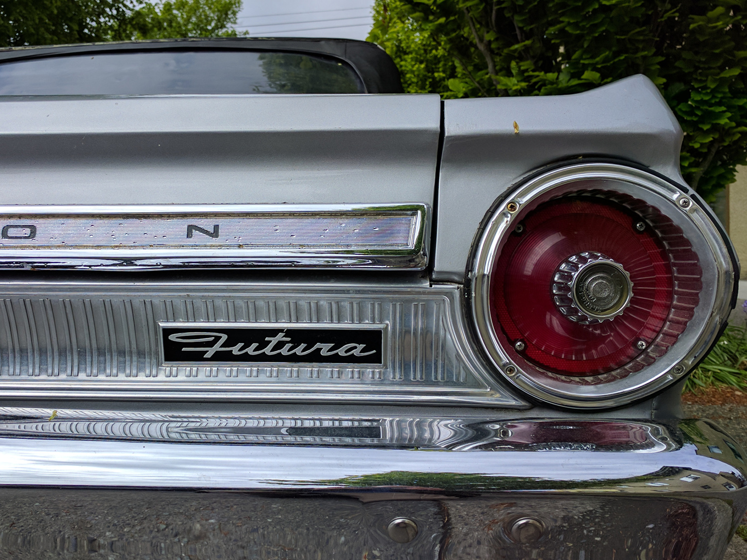 Old Parked Cars Vancouver 1964 Ford Falcon Futura 1