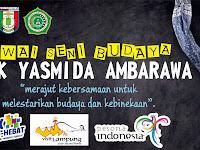 Desain Banner Pawai Budaya Provinsi Lampung SMK Yasmida