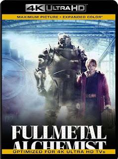 Fullmetal Alchemist (2017) 4K 2160p UHD [HDR] Latino [GoogleDrive]