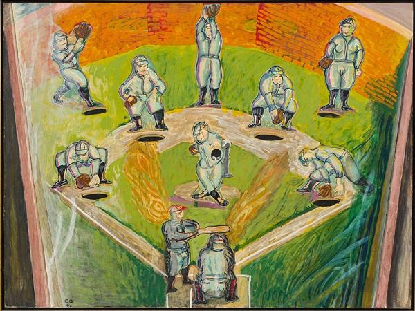 "by Charles Garabedian - ""Pinball Baseball"""